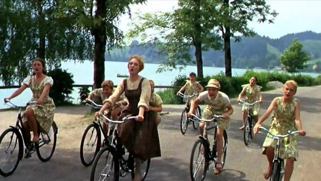 The Von Trapp children from Sound of Music: