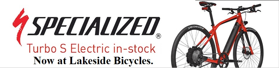 Click here for a link to the Lakeside Bicycles' Specialized Turbo catalog entry.