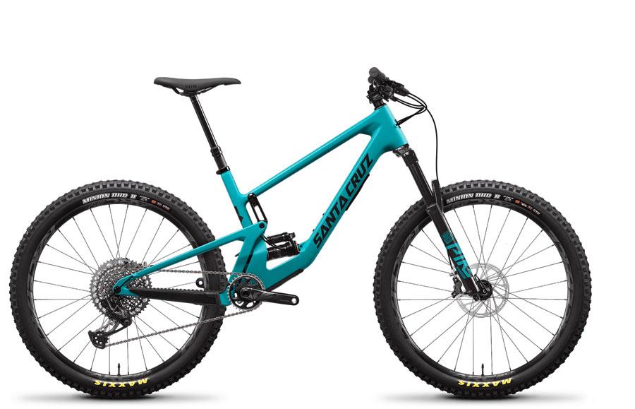 2021 Santa Cruz 5010 Blue CC X01