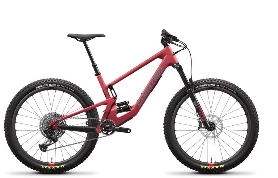 2021 Santa Cruz 5010 CC X01 RSV Raspberry Sorbet