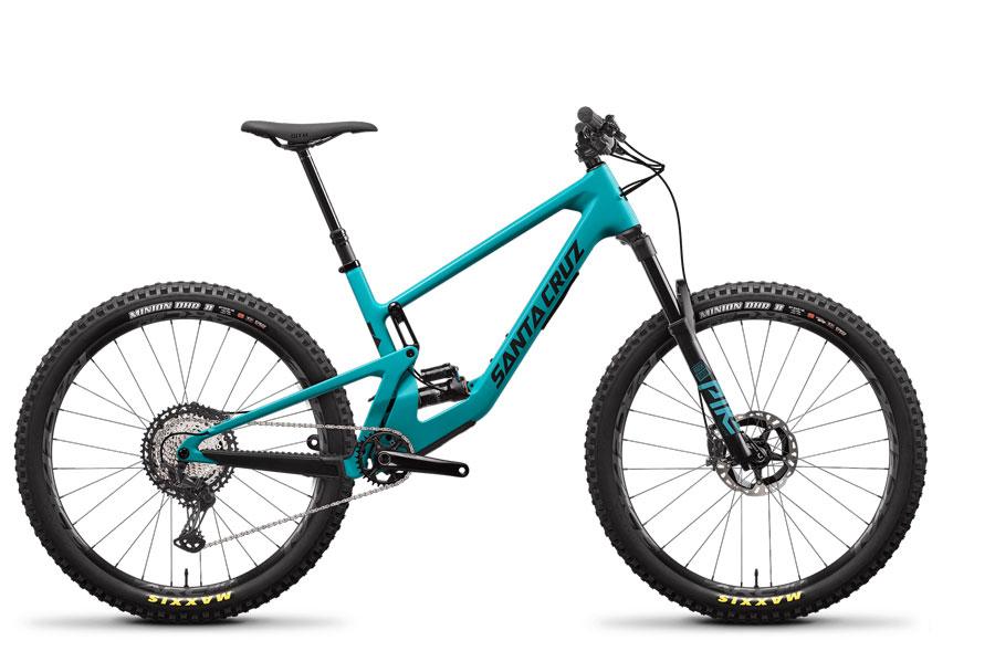 2021 Santa Cruz 5010 Blue XT