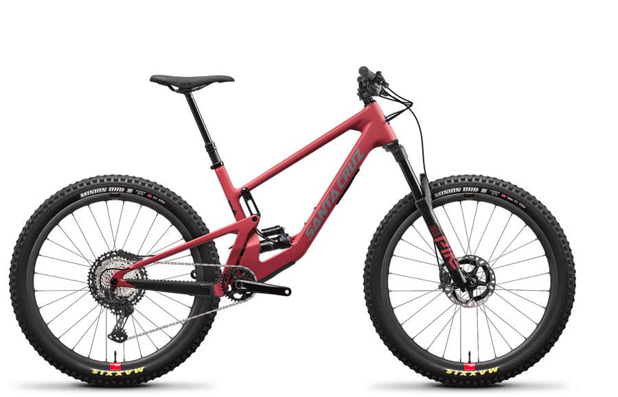 2021 Santa Cruz 5010 Red XT RSV