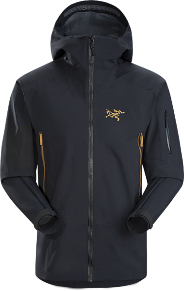 Arc'Teryx Sabre AR Jacket Color: 24K Black