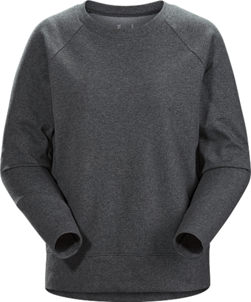 Arc'Teryx Women's Sirrus Pullover Color: Cinder Heather