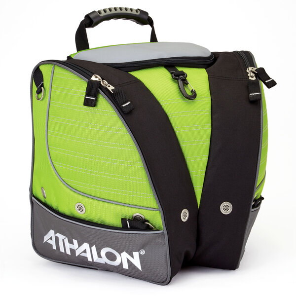 Athalon Kids' Tri-Athalon Boot Bag - Lime/Gray