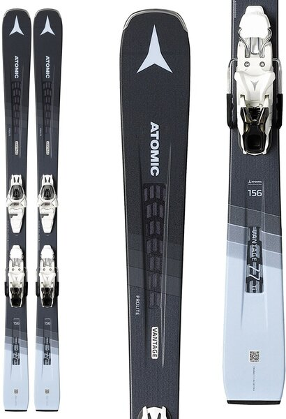 Atomic Vantage 77 Ti W with L 10 GW bindings women's skis