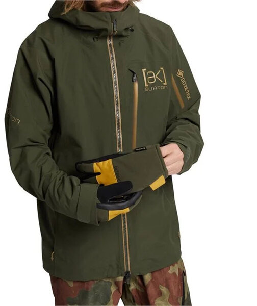 Burton AK GORE-TEX Jacket Color: Forest Night