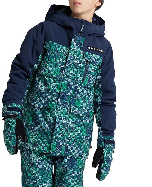 Burton Boys' Covert Jacket Color: Birds Eye