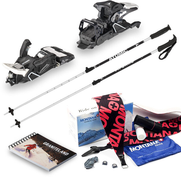 Gorham Bike & Ski Alpine Touring Package