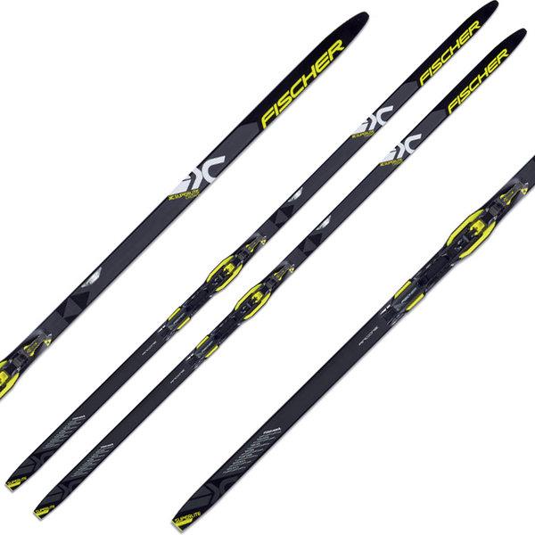 Fischer Superlite Crown Extra Stiff EF IFP Waxless Cross Country Skis