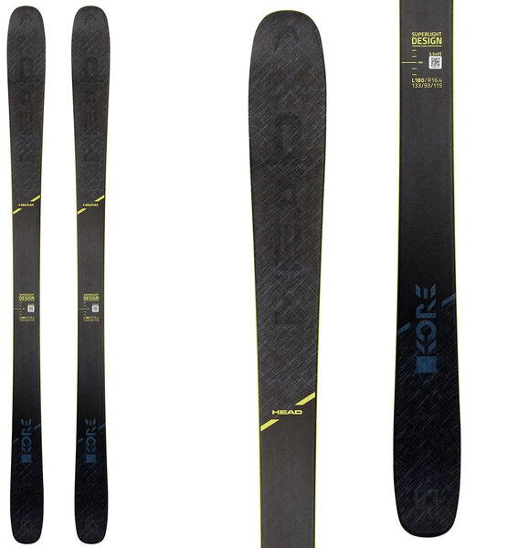 Head Kore 93 Skis