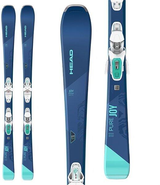Head Pure Joy Women's Skis with Joy 9 Grip Walk SLR bindings