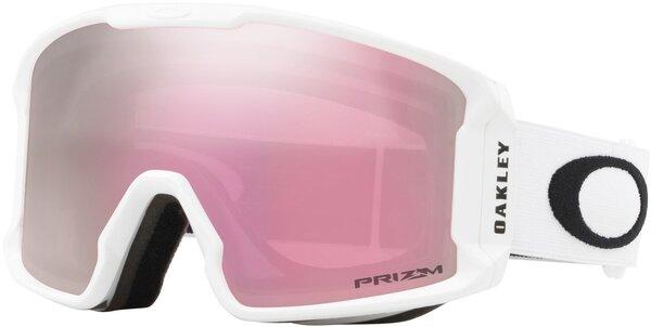Oakley Line Miner XM - Matte White w/ Prizm HI Pink