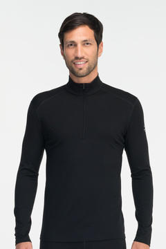 IceBreaker Men's Oasis Long Sleeve Zip-T