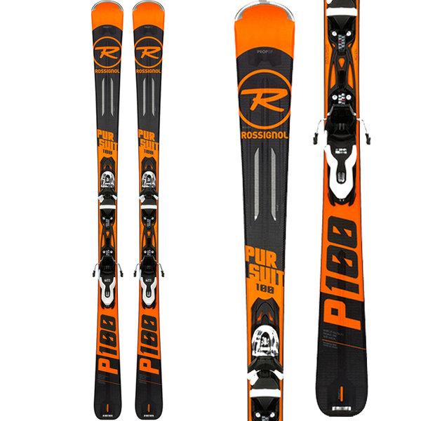 Rossignol Pursuit 100 Skis + Xpress 10 Bindings