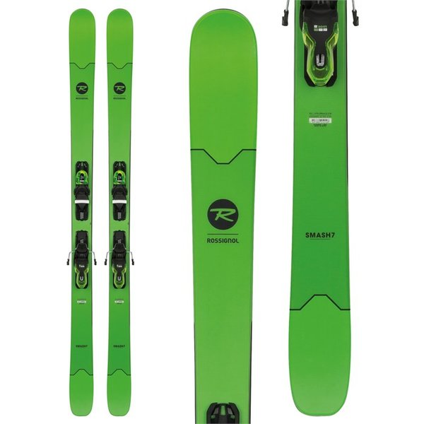 Rossignol Smash 7 XP Skis + Xpress 11 Bindings