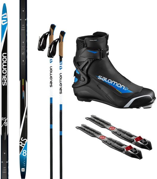 Salomon Skate Ski Package