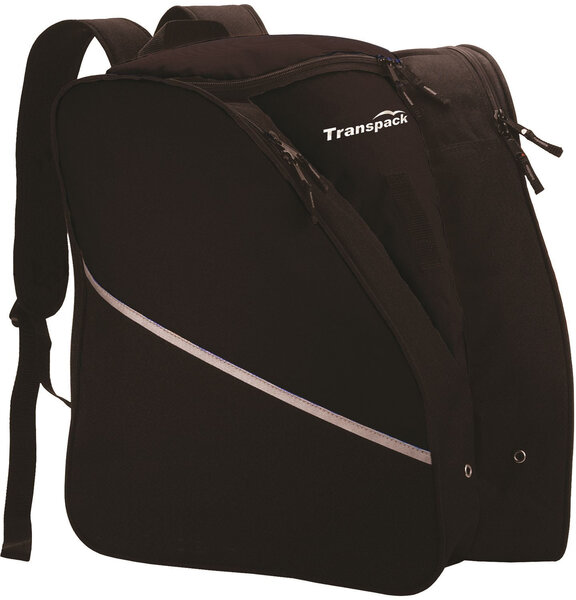 Transpack Kids' Alpine Jr. Boot Bag - Black