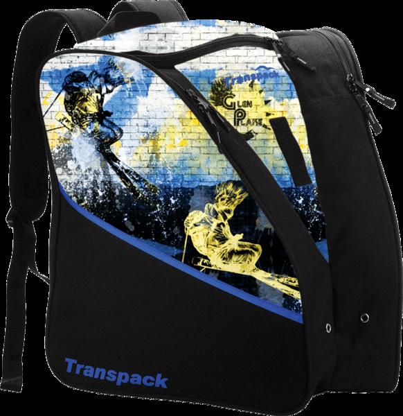 Transpack Kids' Edge Jr. Boot Bag - Glen Plake Lime