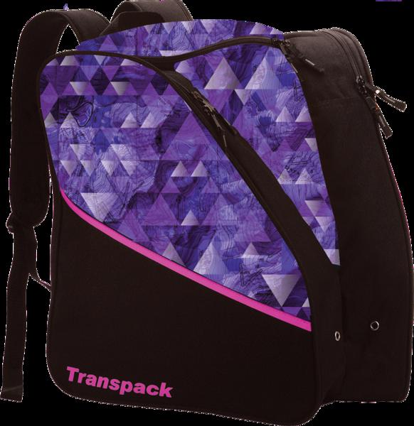 Transpack Kids' Edge Jr. Boot Bag - Purple Topo