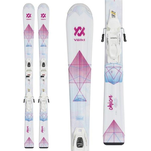 Volkl Chica with 4.5 V-motion Jr Binding Women's Skis