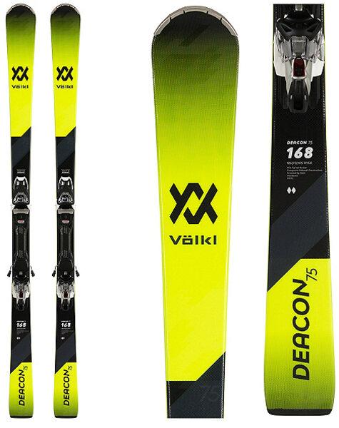 Volkl Deacon 75 Skis with vMotion 10 GW bindings