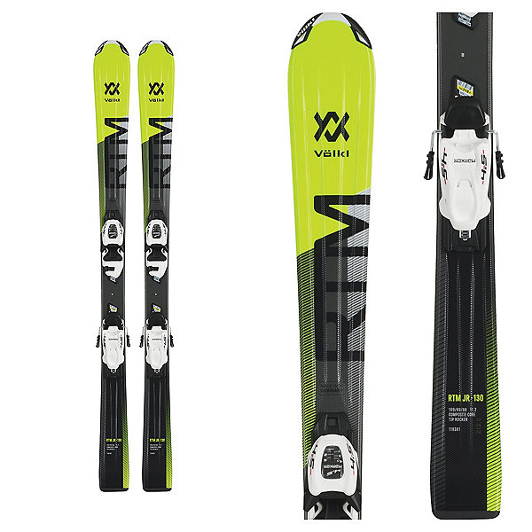 Volkl RTM Jr Skis with 4.5 V-motion Jr Bindings