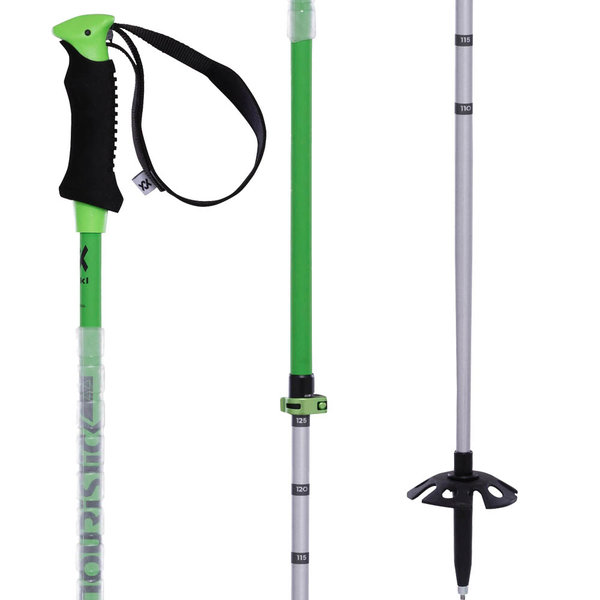 Volkl Touristic Vario AA Adjustable Ski Pole