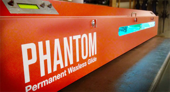 Phantom Glide Treatment - Never wax your skis again!
