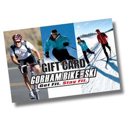 Gorham Bike and Ski Gift Card