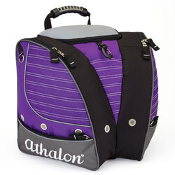 Athalon Kids' Tri-Athalon Boot Bag - Purple/Gray
