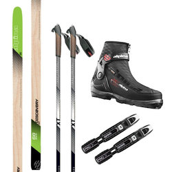 Alpina Backcountry Cross Country Ski Package