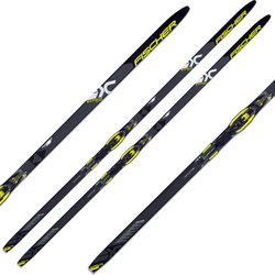 Fischer Superlite Crown Extra Stiff EF IFP Waxless Cross Country Skis