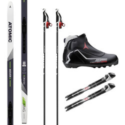 Atomic Out the Back Door & In-Track Fitness Cross Country Ski Package