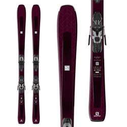 Salomon Aira 76 ST Women's Skis with Lithium 10 W Bindings