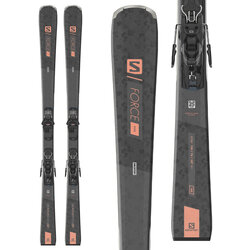 Salomon S/Force W 5 Women's Skis + M10 GW Bindings
