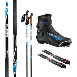 Salomon Skate Ski Package