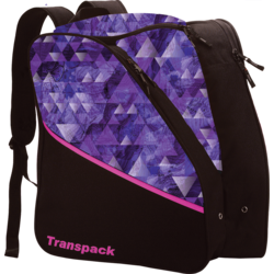 Transpack Kids' Edge Jr. Boot Bag - Purple Topo