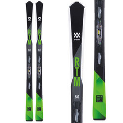 Volkl RTM 8.0 Skis + FDT TP 10 Bindings