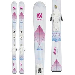 Volkl Chica with 4.5 V-motion Jr Binding Women's Skis