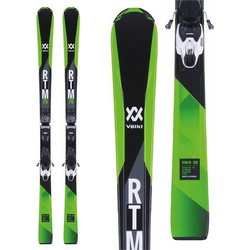 Volkl RTM 76 Skis + V-Motion 10 Bindings