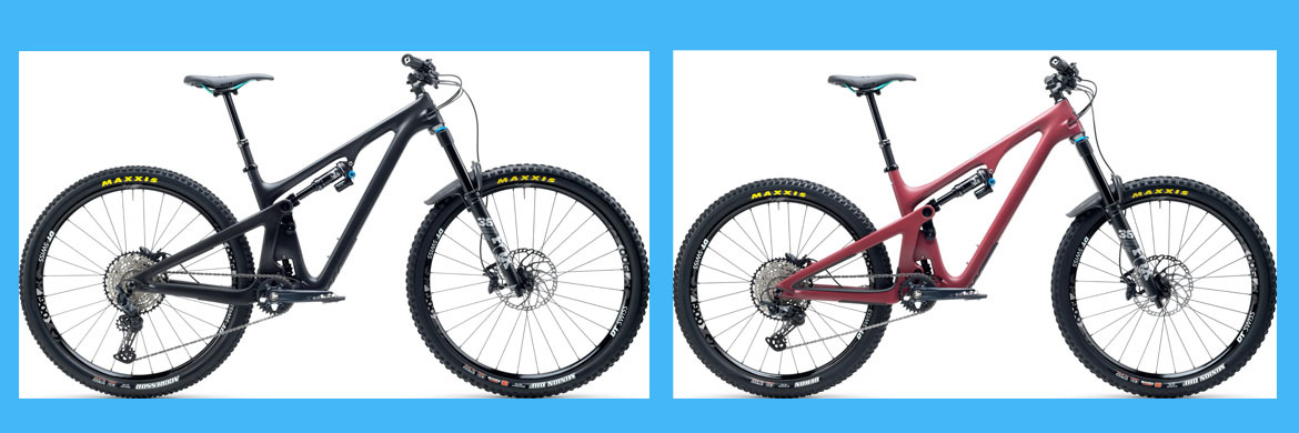 Yeti SB130 and SB150 Mountain Bikes