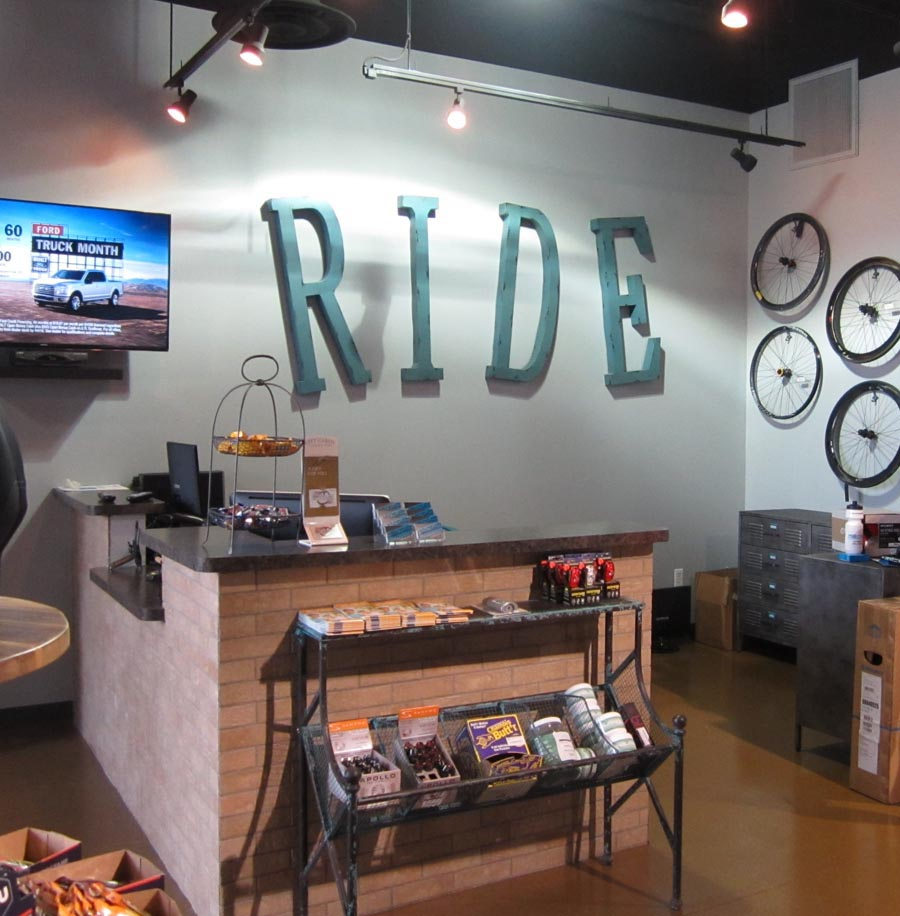 Interior of Pro Cyclery