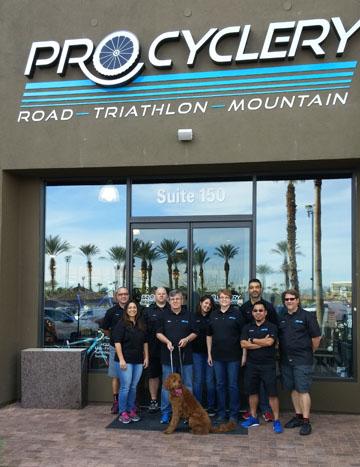Pro Cyclery staff photo