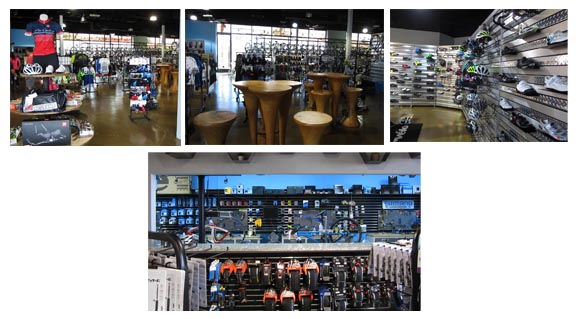 More interior pics of Pro Cyclery