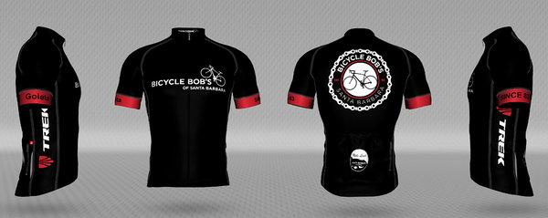Bicycle Bob's Chain Logo Men's Jersey