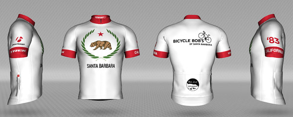 Bicycle Bob's California Bear Men's Jersey