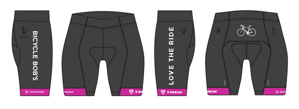 Bicycle Bob's Love the Ride Women's Short