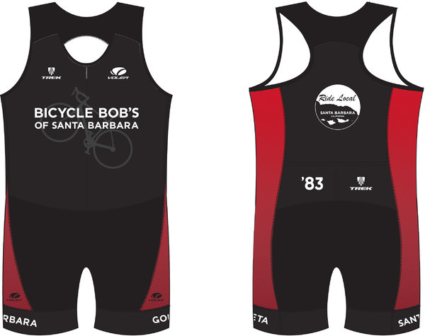 Bicycle Bob's Elevate Tri Men's Skinsuit