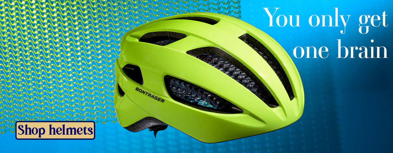 You only get one brain, link to helmets on webstore